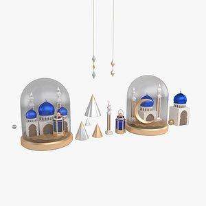 Ramadan Set V2 3D model