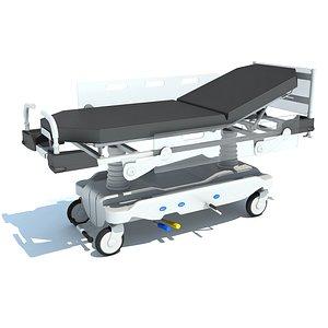 Transport Stretcher 3D model