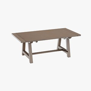 table dining house 3D model