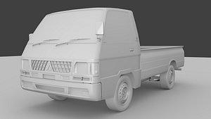 Mitsubishi L300 pick up 3D model