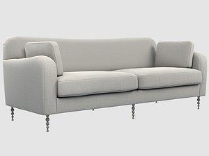 3D hillcrest sofa kelly wearstler