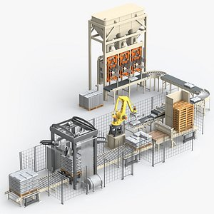3D Packing Line