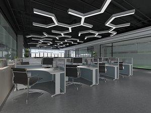 Office Office Office Large Office Office Hall Office Roam Modern Office Manager's Office Card Block 3D