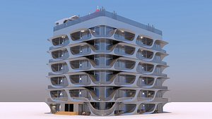 3D house apartments - project
