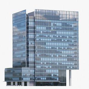 SHANGRI-LA from Vancouver V4 Lowpoly 3D model