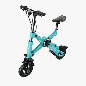 X1Explorer Electric Bicycle 3D model