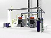 Viessmann Vitoplex 300-390 industrial boilers