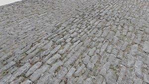 3D floor stone pbr model