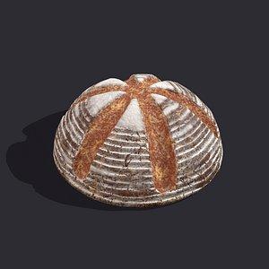 3D Cross Top Bread