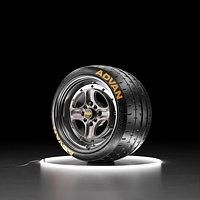 Car wheel Yokohama A052 tire with WORK EQUIP 40 rim