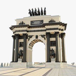3D Moscow Triumphal Arch