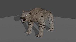 3D model Smilodon