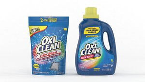 3D oxiclean color boost cleaning