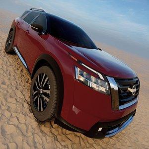 3D Nissan Pathfinder 2022 model