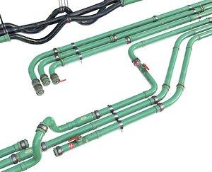 3D pipe modular pipeline