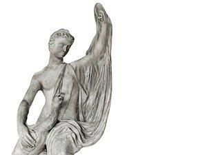 Renaissance Sculpture Masterpiece 3D model