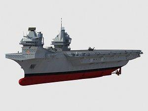 3D HMS Prince of Wales  R09 model