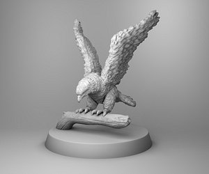 3D model hawk mountain