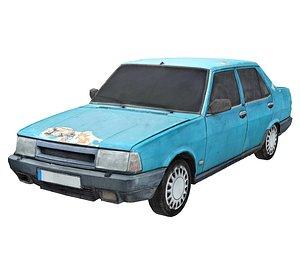 Old Car Scan 6 3D