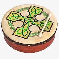 Bodhran Irish Drum