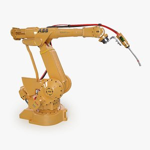 Industrial Robot 3D model