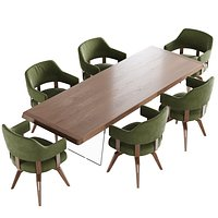 Natuzzi valle chair phantom table