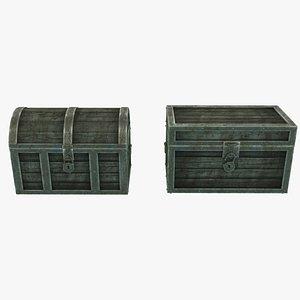 3D vintage antique chests skin
