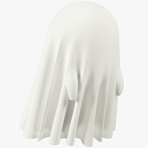 3D Funny Ghost Small Blank V3 model