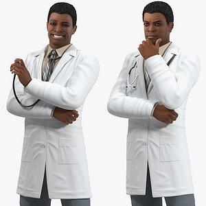 light skin black male model