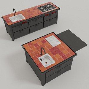 Kitchen Mina model