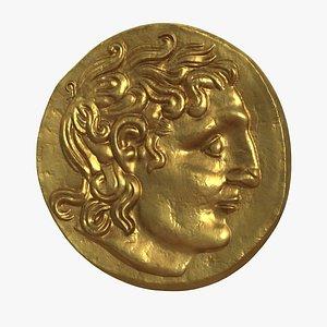 Stater Hygiainon Coin 3D model