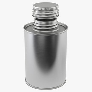 3D model bottle metal