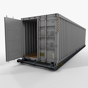 Container 40 feet 3D