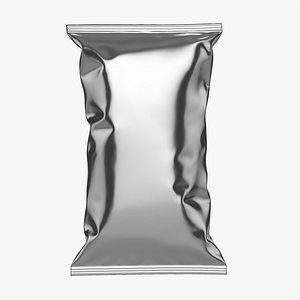3D mockup large folds model