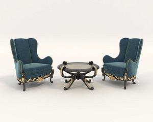 chair table european model
