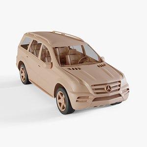 3D 2010 Mercedes-Benz GL