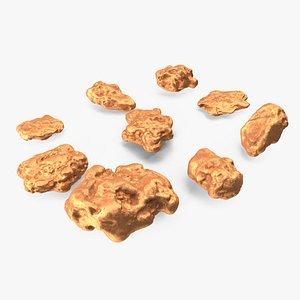 Metallic Minerals Copper Set model