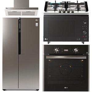 ovens lg 3D model