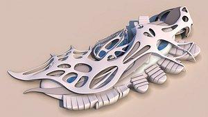 3D model museum aquarium