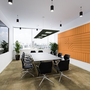 3D Meeting Room Interior model