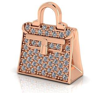 hermes necklace bag model