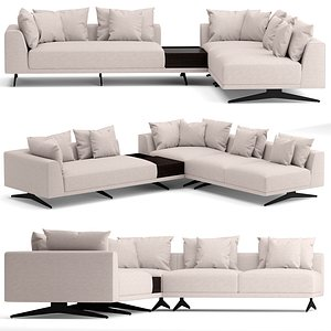 3D Eichholtz Endless sofa