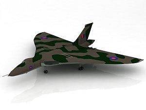 Aircraft Avro Vulcan 3D model