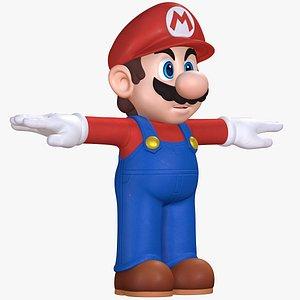 Super Mario Character Sparks of Hope 8K 3D model
