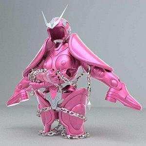 Shun Andromeda's Cloth  Saint Seiya 3D model