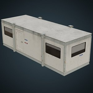 3D building portable model