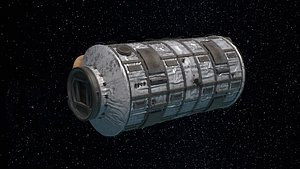 3D spaceship vehicle