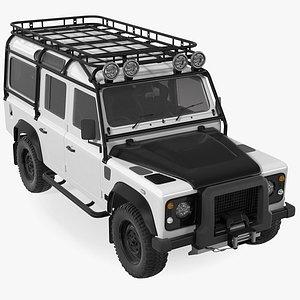 Off Road Car Rigged 3D model