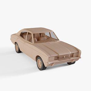 1970 Ford Cortina 3D model
