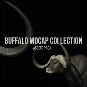 Buffalo Mocap Collection 3D